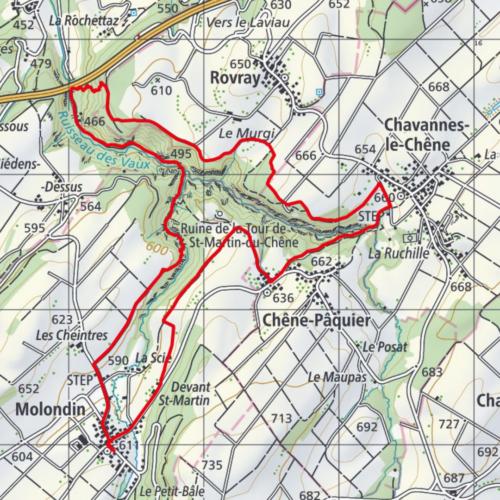 Carte grand parcours